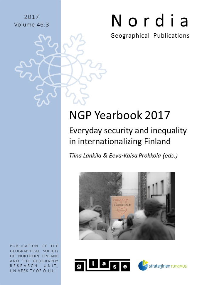 View Vol. 46 No. 3: NGP Yearbook 2017 Everyday security and inequality in internationalizing Finland