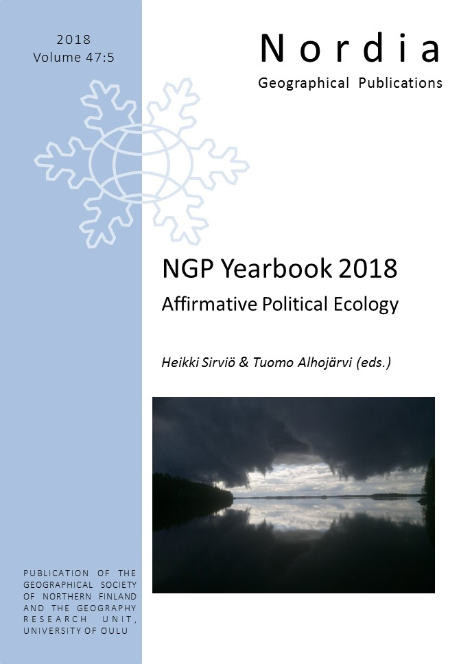 View Vol. 47 No. 5 (2018): NGP Yearbook 2018 Affirmative Political Ecology